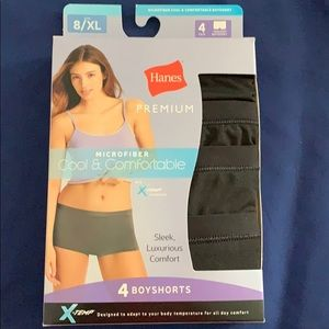 Hanes Boyshorts cool and comfortable